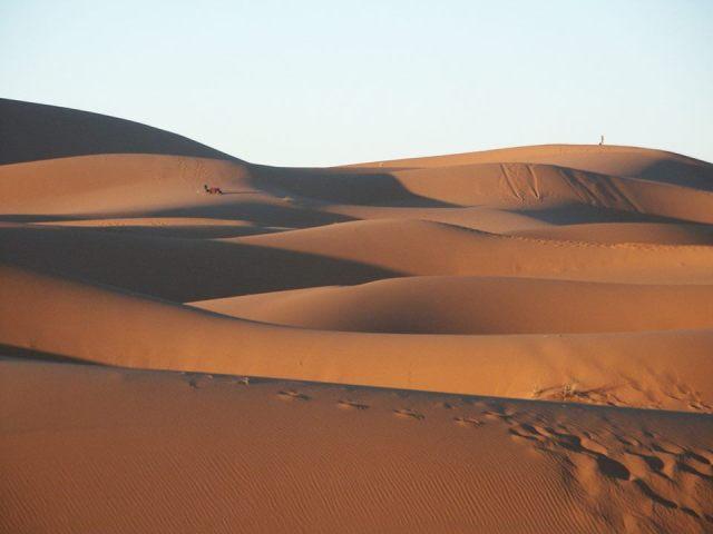 Deserto in Marocco