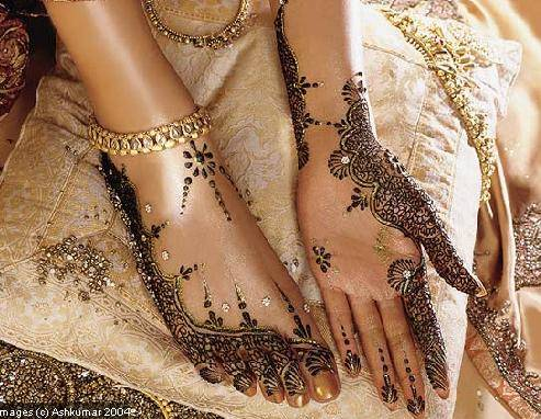 Henné per il matrimonio